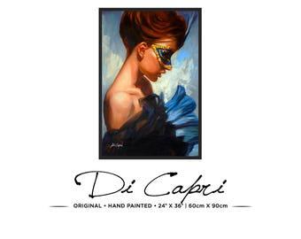 Miss Tery   Original Oil Painting On Canvas   Modern Art   01