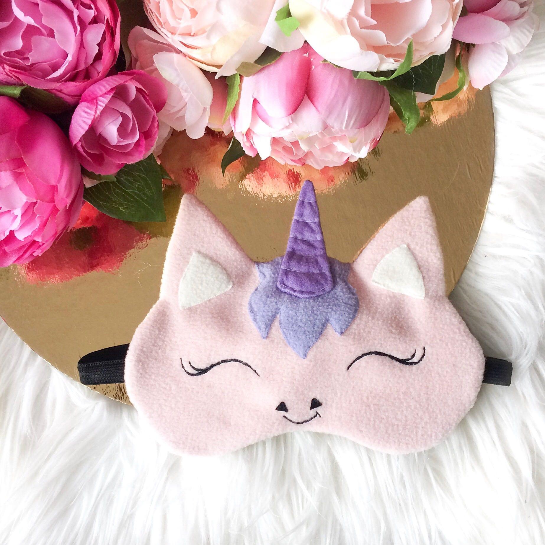 masque de sommeil licorne sommeil masque yeux masque de. Black Bedroom Furniture Sets. Home Design Ideas