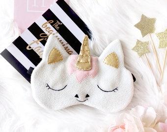 Unicorn sleep mask, Eye mask sleep, Funny sleep mask, Sleep mask for women, Eye Mask, Sleeping mask, Unicorn, Sleep mask, Gift