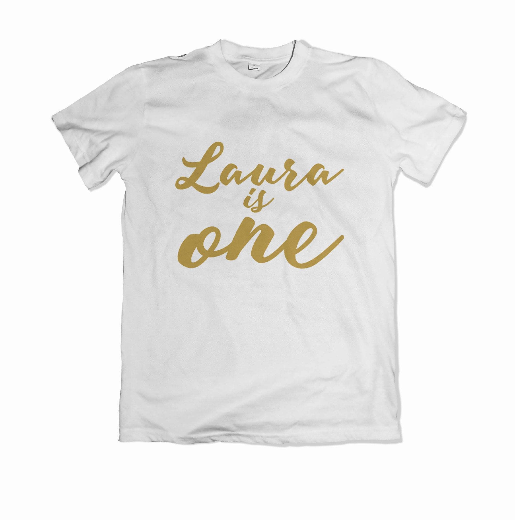 Personalised Childrens Birthday T Shirt