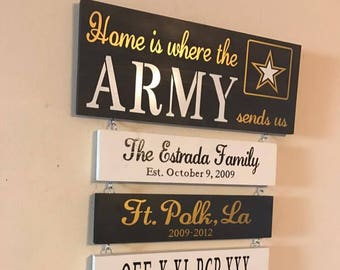 Army Home Decor Etsy