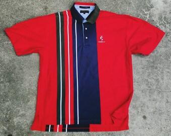 0de42a4fe6024 vintage Tommy Hilfiger golf polo