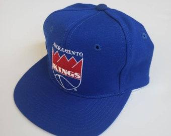 detailed look 940dc 40bba vintage Sacramento Kings AJD snapback