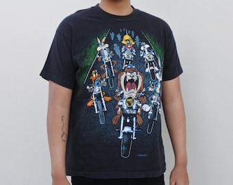 db7f38d80000 vintage Looney Tunes biker t-shirt