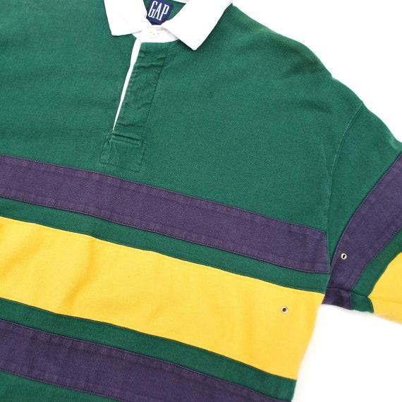 vintage Gap rugby shirt, M/L