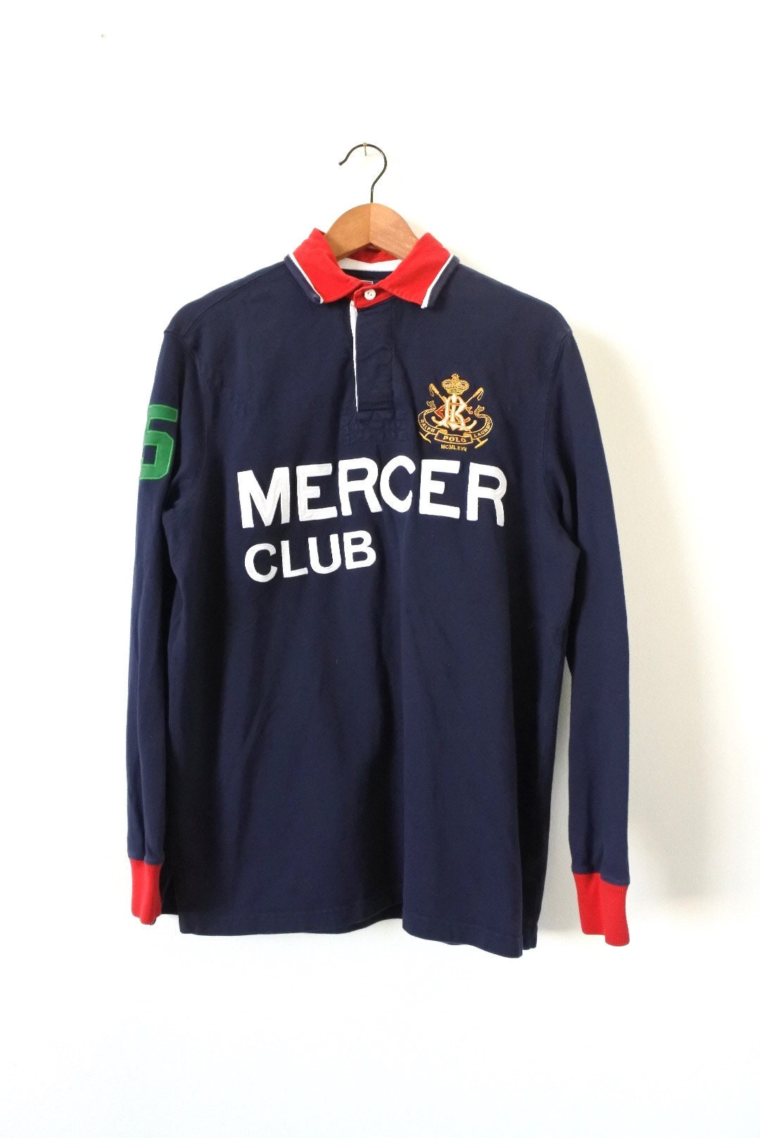 Mercer Club Rugby By Polo Ralph Lauren Large Etsy