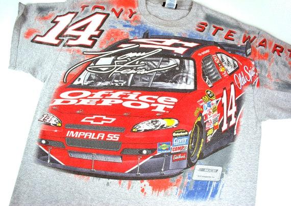 vintage Tony Stewart NASCAR t-shirt, 2XL