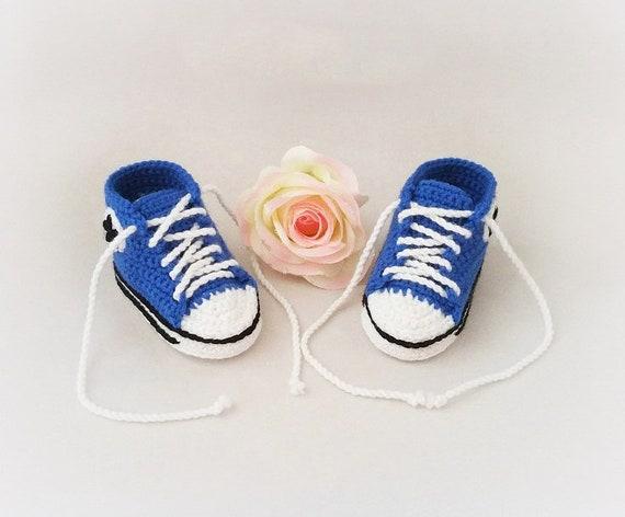 Baby Erstlingsschuhe blau