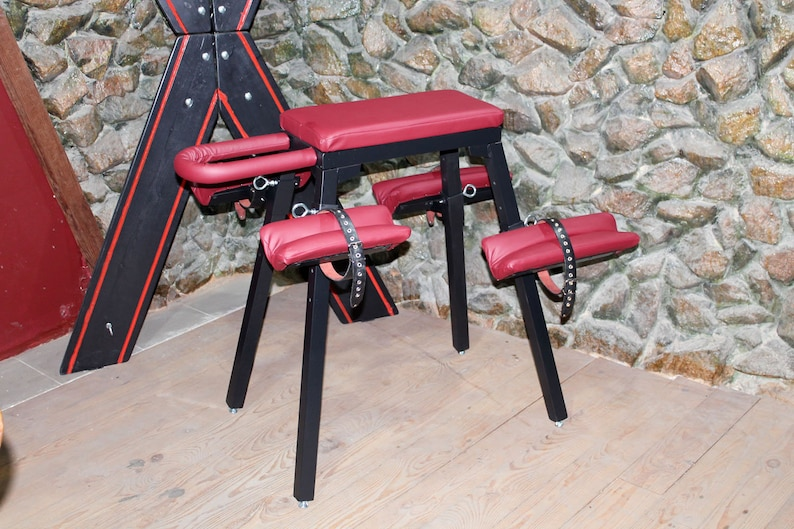 Mature Spanking Bench Bdsm Furniture Dungeon Bondage Etsy