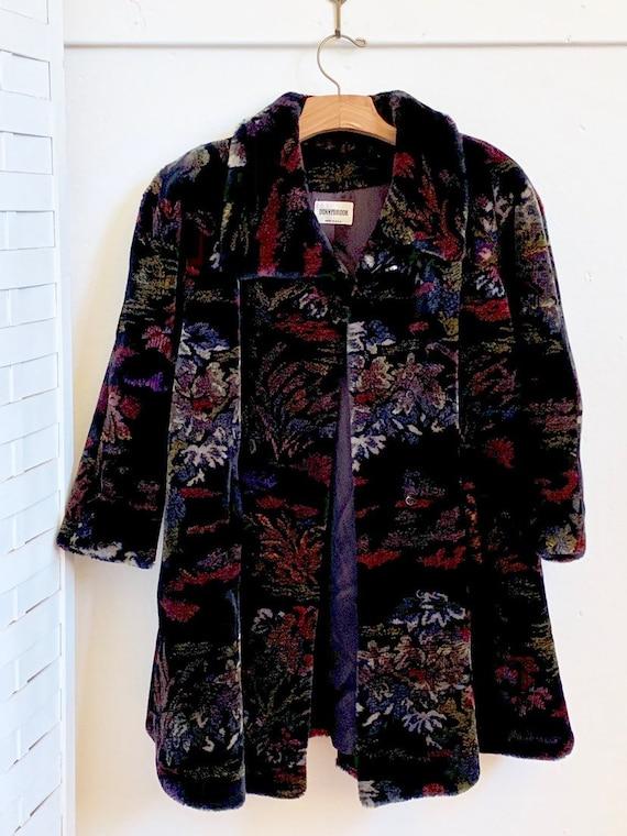 Vintage 1980's Donnybrook faux fur coat, Vintage … - image 7
