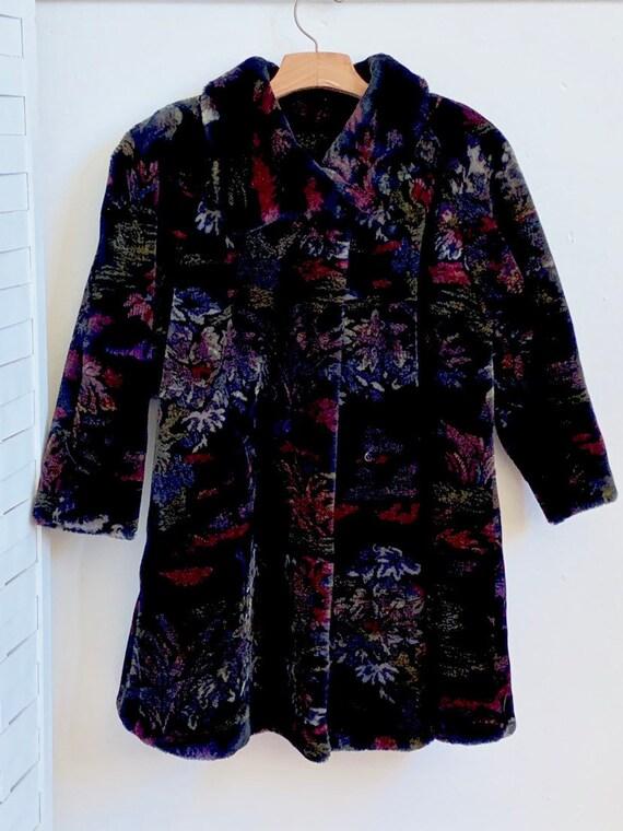 Vintage 1980's Donnybrook faux fur coat, Vintage … - image 8