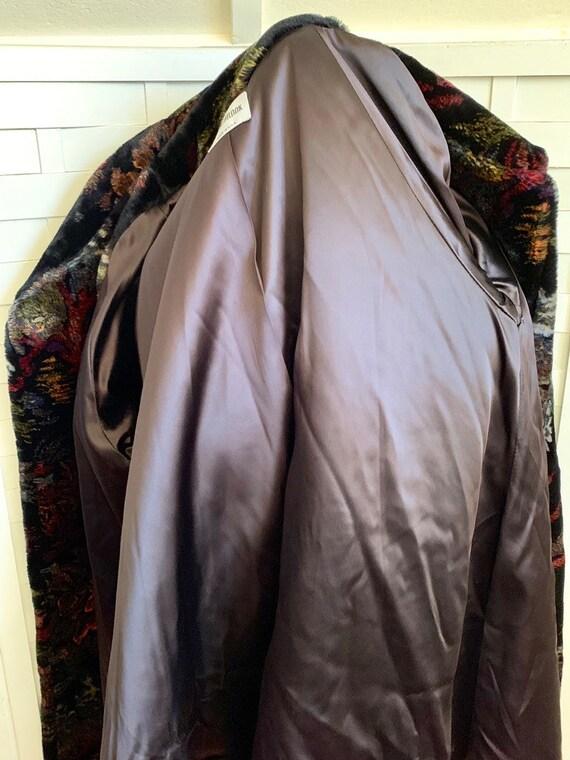 Vintage 1980's Donnybrook faux fur coat, Vintage … - image 4