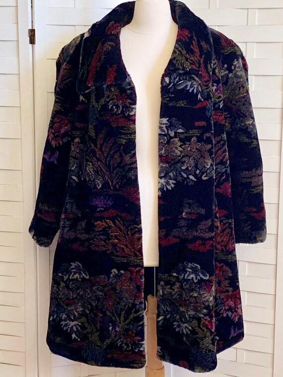 Vintage 1980's Donnybrook faux fur coat, Vintage … - image 6
