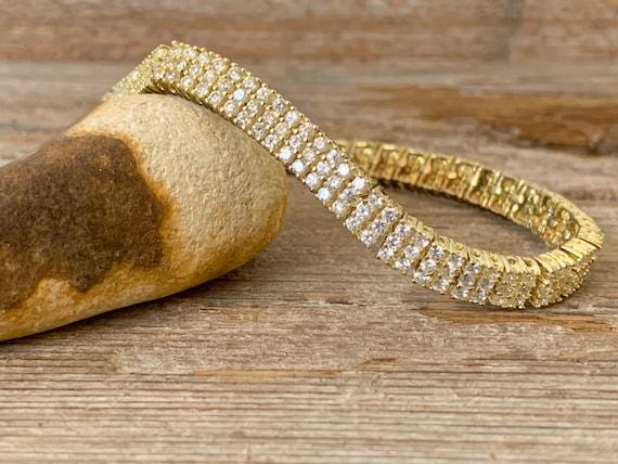 Vintage tennis bracelet, tennis bracelet, vintage