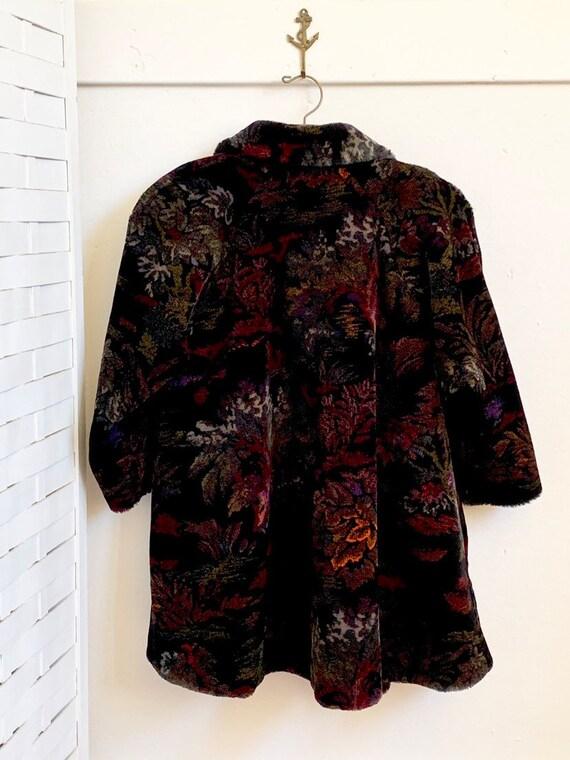 Vintage 1980's Donnybrook faux fur coat, Vintage … - image 3