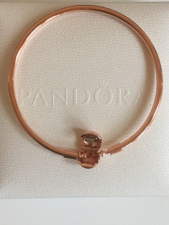 Moments Pandora Rose Bangle 21cm Etsy