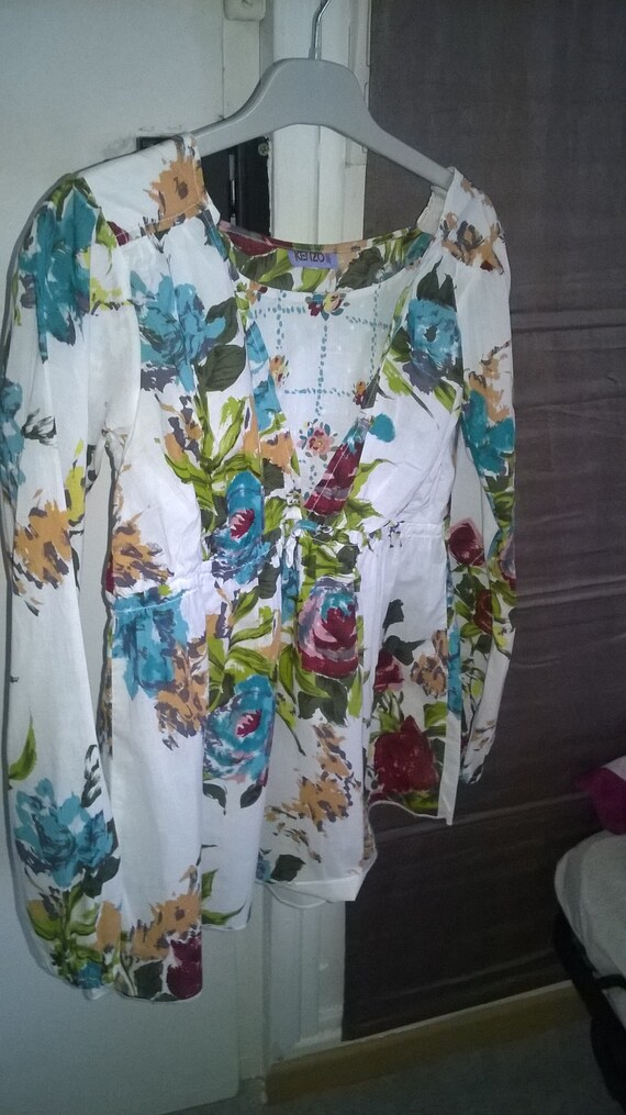 Kenzo romantic blouse