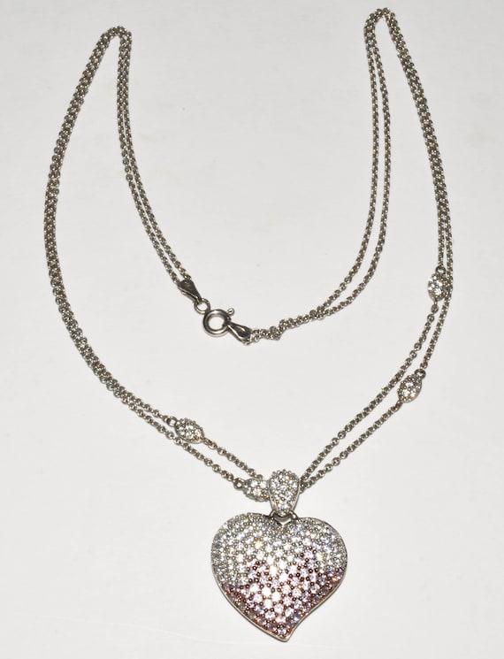 Goldia Sterling Silver CZ /& December Glass Girl Pendant