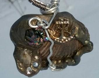 Soulful Sea Shell Pendant