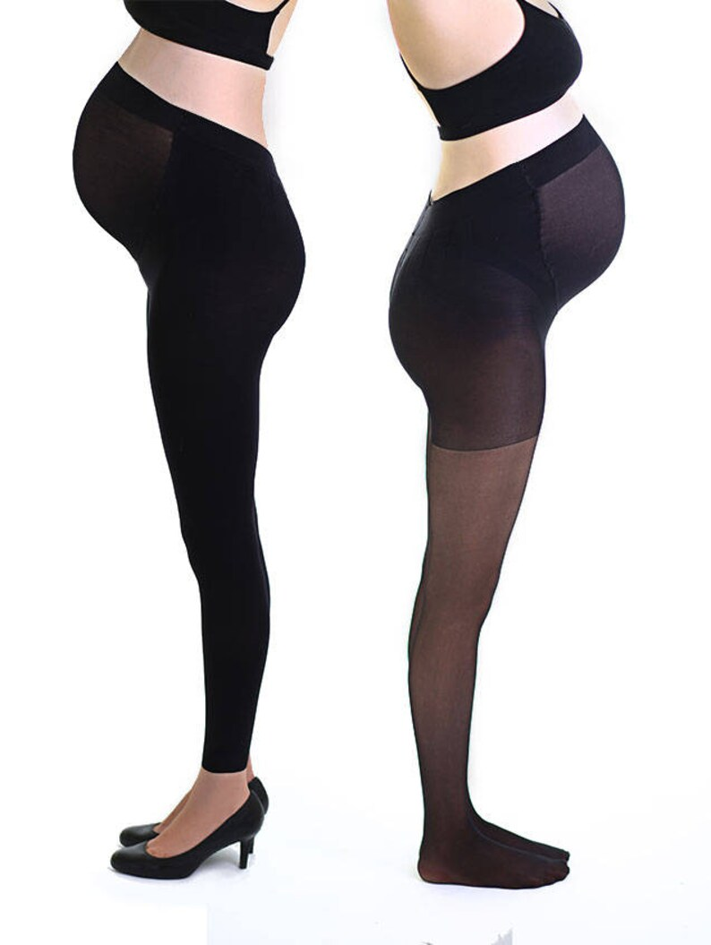 1c8ccd8f550 2 Per Pack Maternity Pantyhose 20 Denier Maternity Legging