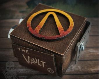 "Wooden box ""The Vault"""