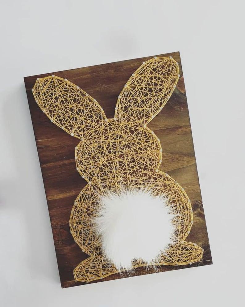 Bunny String Art DIY kit