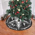 Baphomet - Christmas Tree Skirt