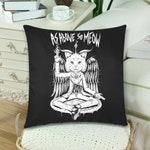 Satan pillowcases -  As above so meow
