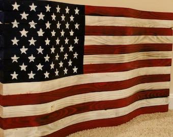 e5ef706eeefd Wooden American Flag Mancave Decor Rustic Mantle Decor Military Wood Flag  Distressed Flag Wood Wall Art Wooden Wall Art Rustic Wall Art