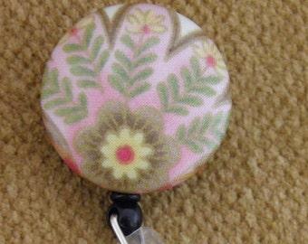 Floral Badge Reel