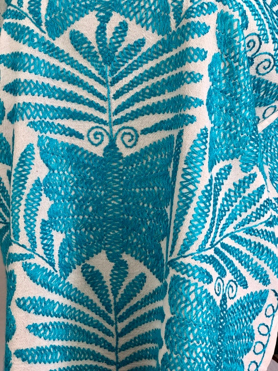 Embroidered mexican blouse, Mexican blouse with h… - image 2