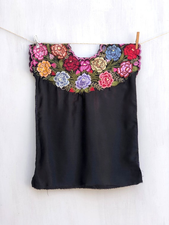 Mexican kids blouse, Mexican huipil with embroider