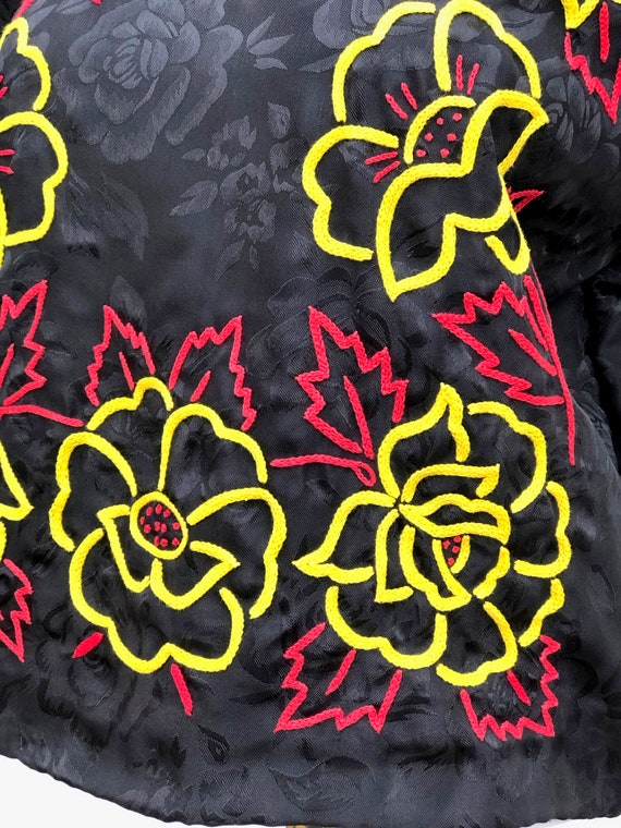 Vintage hand embroidered tehuana, embroidered mex… - image 4