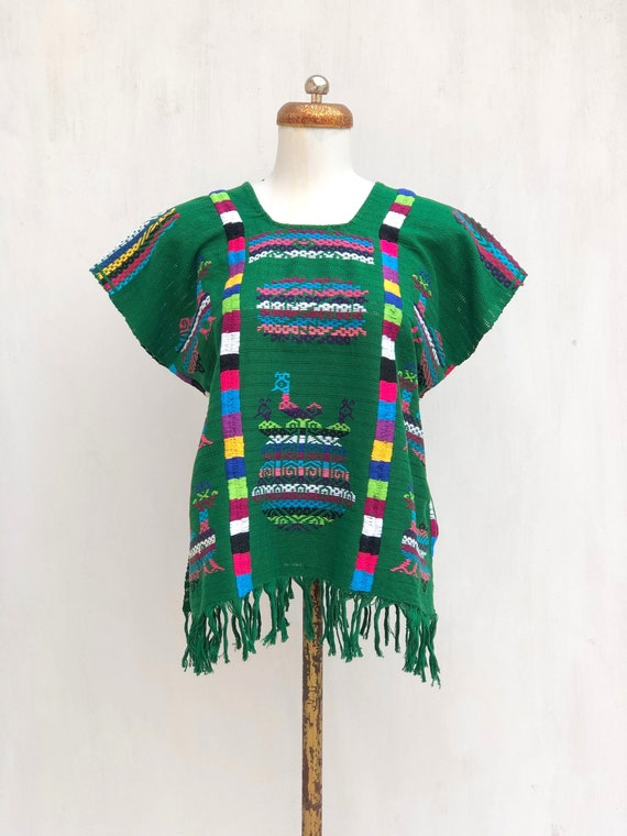 Hand Woven mexican blouse, Mexican blouse, woven m