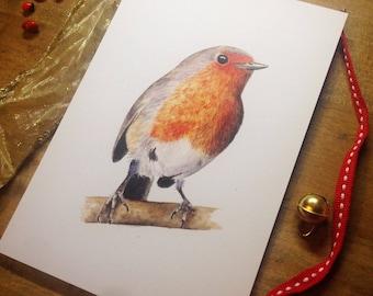 Christmas Robin ・ Greeting Card