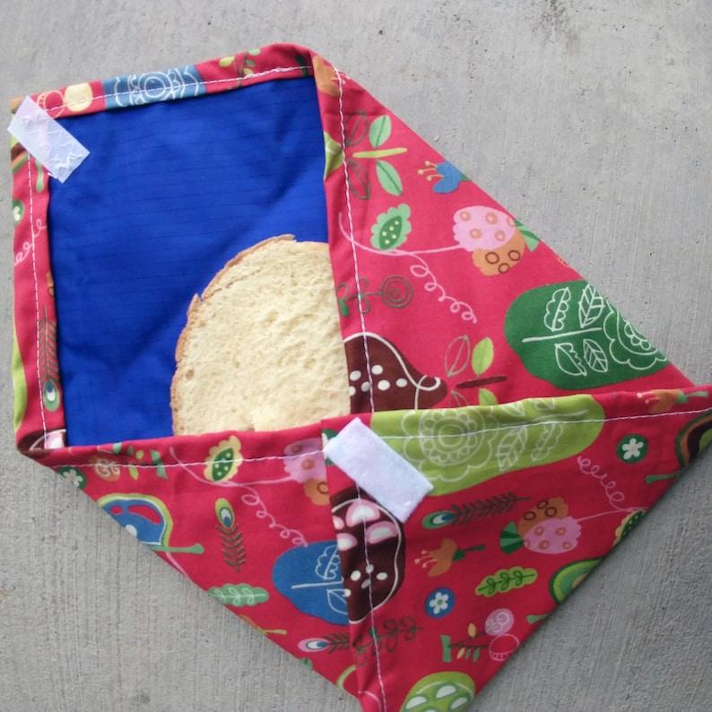 Reusable Sandwich Wrap food safe pattern image 0