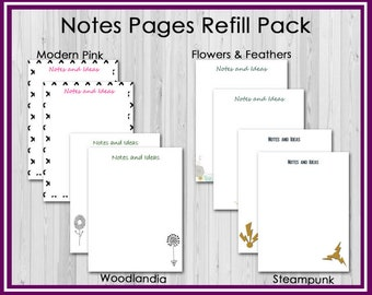 Refill: Notes and Ideas Pages for the SpecializEd Teacher Planner