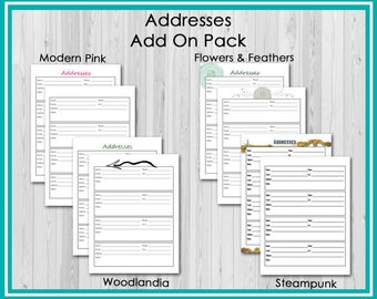Add On: Addresses for the SpecializED Evaluator Planner