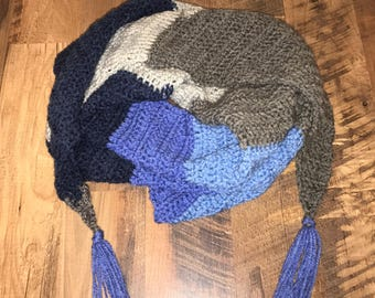 Solid Triangle Scarf