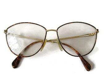62083b41713 Vintage Womens Glasses SKAGA SWEDEN Glasses Gold Glasses Tortoise Glasses  Thin Metal Frame Glasses Prescription Glasses Retro Eyeglasses