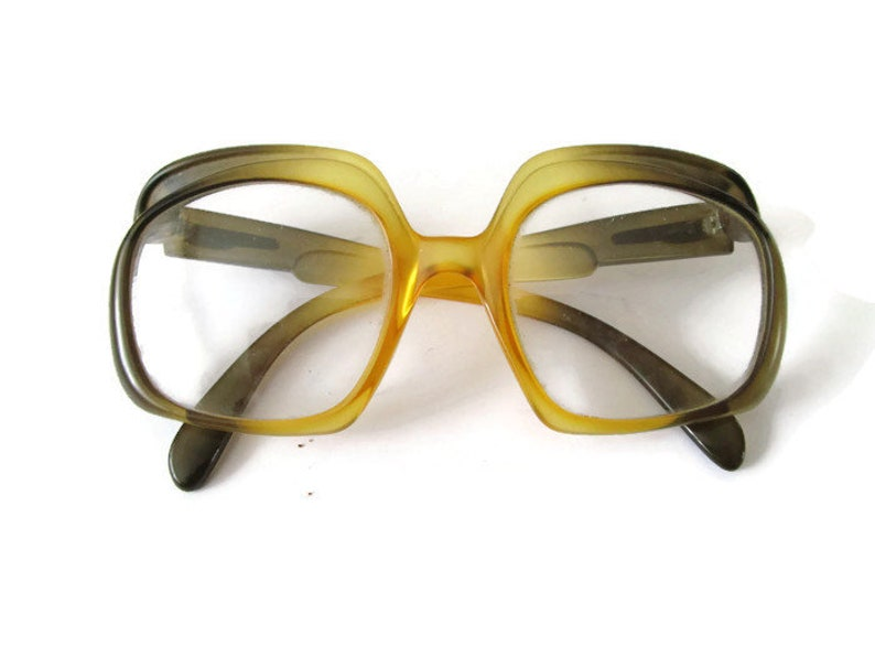 b4cf2e84311 Unusual CHRISTIAN DIOR Round Glasses Full Frame Glasses 70s
