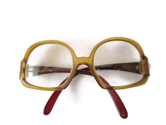 Fabulous CHRISTIAN DIOR Round Glasses Full Frame Glasses 70s | Etsy