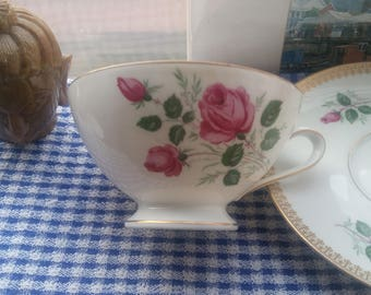 German Coffee Cup and Saucer