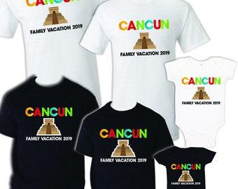 3e8069a4 Cancun Shirt, T Shirt Cancun, Cancun Vacation, Cancun Cruise, Cruise Shirt, Mexico  Shirt, Spring Break Shirt, Matching Shirts