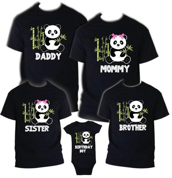 Kids Fun Novelty T shirt Little Bear New Brother New sister Celebration