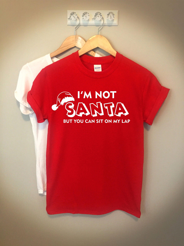 f93485914 Funny Shirt Christmas Shirt I'm Not Santa Santa Shirt | Etsy