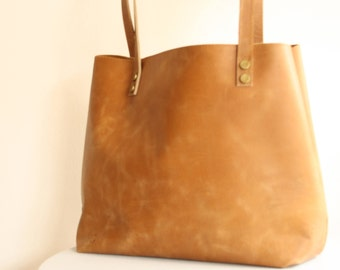 Leather Tote, Tote Bag, Rustic Leather, Distressed Leather Tote, Brown Leather Bag, Leather Bag, Leather Tote Bag for women, Free Shipping