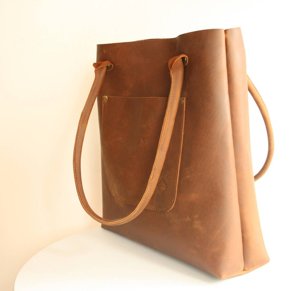 1b74149689 Leather Tote Tote Bag Rustic Leather Distressed Leather