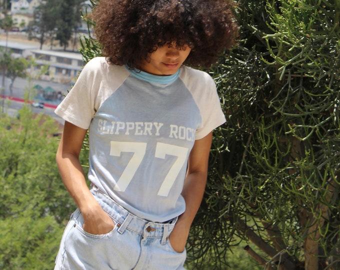 70s shirt, 77 Slippery rock, Size Small