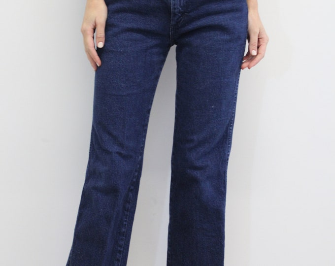 90s Woman's Vintage Wranglers, dark denim